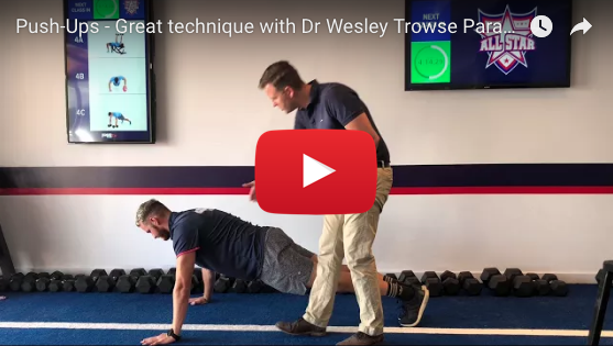VIDEO – Push-ups – The Do's and Don'ts
