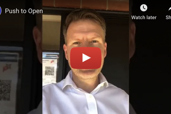 VIDEO: Push to Open!