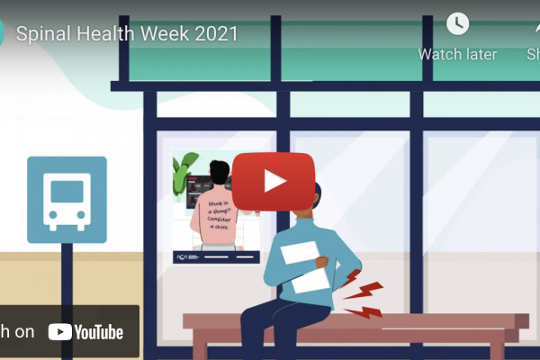 VIDEO: Consider a Chiro – 4 million Australians suffer with back pain.