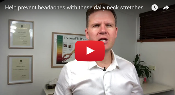 Help prevent headaches with these daily neck stretches