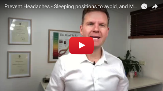 VIDEO. Sleeping positions and mattress and pillow set-up